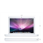 """Macbook Core 2 Duo T8300 2.4GHz 2GB 160GB DVD-RW 13.3"""" Câmera iSight White"""