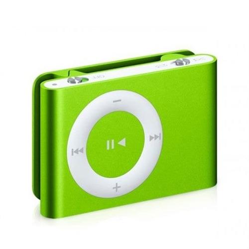 Green ipod shuffle